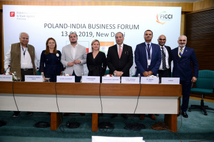 Lumel highlights the opportunities and challenges of running businesses during Poland-India Forum in New Delhi inaugurated by the Deputy Minister of Foreign Affairs of the Republic  of Poland Mr Marcin Przydacz - thumbnail
