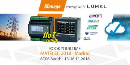 Matelec is coming soon. Visit our booth - miniatura