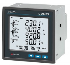 Power network meter for IoT applications - ND25IoT