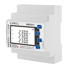 1 and 3-phase energy meter 1/5A (MID certified)