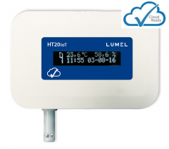Temperature and humidity monitor for IoT applications