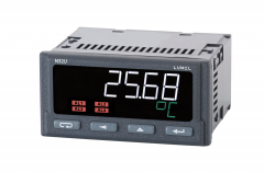Programmable digital meter of temperature, resistance and standard signals