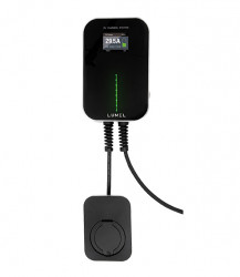 Single/Three Phase EV Charging Station with LCD and Bluetooth LUM-BSB20BA and LUM-BSB20BC