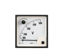 3-phase voltmeters