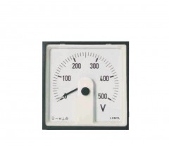 Moving-coil meters with built-in rectifiers - MA16L(P), MA17L(P), MA19L(P), MA12L(P)