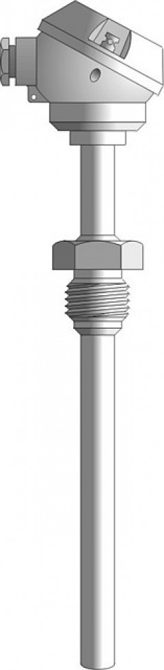 Sensor for measuring the temperature of gases, liquids or solids - CT411, CT412, CT413, CT414, CT415