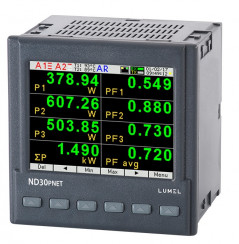 1 and 3-phase power network meter with Profinet