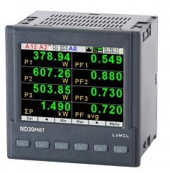 1 and 3-phase power network meter with Profinet for PLC applications