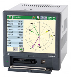 3-phase power network meter/analyzer