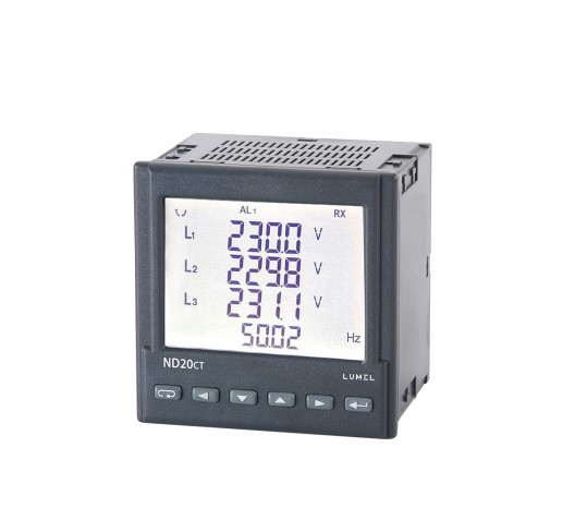 1- and 3-phase power network meter