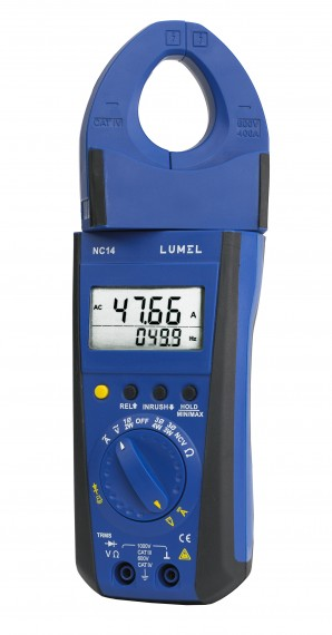 AC/DC power clamp-on meter 1000A / 400 A