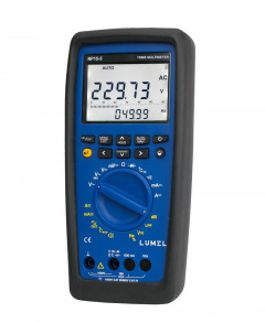 True RMS digital multimeter with data logging & view function