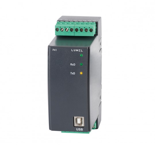 1-phase transducer of power network parameters