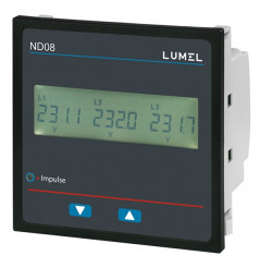 1 and 3-phase power network meter ND08
