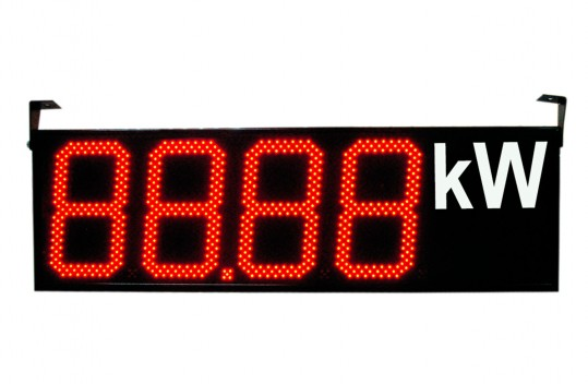 Numerical digital displays