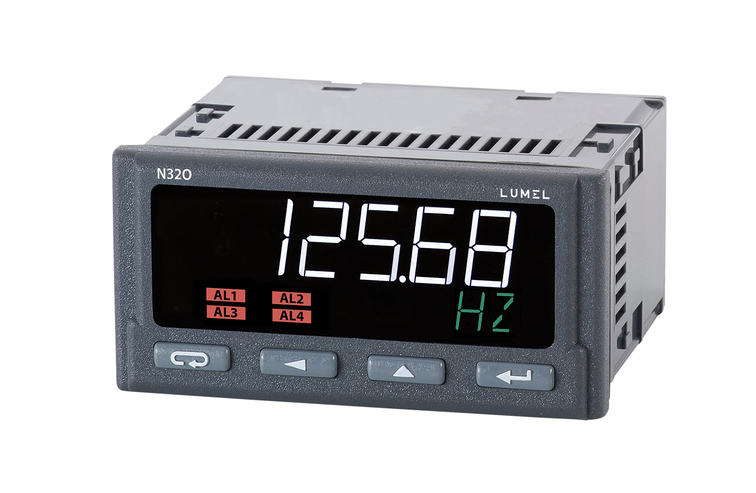 Programmable digital meter of pulses, frequency, rotational speed - N32O